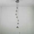 Светильник Mizu 7 плафонов Terzani для высоких потолков