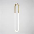 Roll & Hill Rudi Loop 01 светильник подвесной вытянутое кольцо со светодиодной трубкой