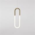 Roll & Hill Rudi Loop 03 светильник подвесной бронза светодиодное кольцо