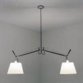 Потолочный светильник Artemide Tolomeo 2 как настольная лампа