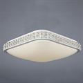 Светильник светодиодный LED потолочный с хрустальными вставками 43207-42