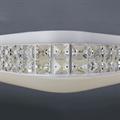 Светильник светодиодный LED потолочный квадратная белая  43207-42