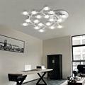 Artemide Led Net Circle D90 светильник настенно-потолочный в интерьере