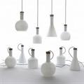 Лампа настольная в виде конусообразной бутыли