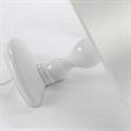 Лампа настольная Титаник белая торчит из стола