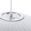 Круглый белый светильник Nelson Ball Bubble Pendant основание