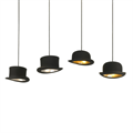 Светильник Wooster в виде шляпы
