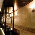 Бра Pillar by Kevin Reilly в ресторане