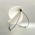 Лампа настольная Eclipse by Mauricio Klabin с белыми полосками