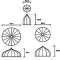 Люстра Moooi Dome схема