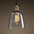 Светильник подвесной Loft Clear Glass Cloche