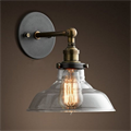 Светильник настенный Loft Clear Glass Cloche 2