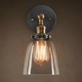 Светильник настенный лофт Clear Glass Cloche