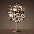 Настольная лампа лофт Orb Foucault's Crystal Table