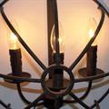 Светильник настенный лофт имитация свечей Orb Foucault's Wall Modest
