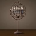 Лампа настольная лофт сфера Orb Foucault's Round Table