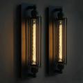 Светильник настенный лофт промышленный дизайн  Edison Cage Mono