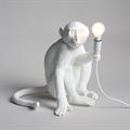 Seletti  Настольная лампа Обезьяна белая