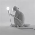 Селетти  Настольная лампа Обезьяна с лампой