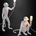 Настольная лампа Обезьяна Monkey Table Lamp в стиле Seletti - фото 23094