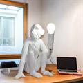Настольная лампа Обезьяна Monkey Table Lamp в стиле Seletti - фото 23095