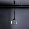 Светильник 7187B-1P прозрачный круглый плафон минимализм