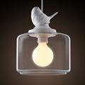 Светильник Sparrow с птичкой белый