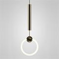 Светильник Ring Light золотой от английского дизайнера Ли Брум