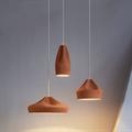 Светильник керамика коричневый Pleat Box 24
