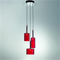 Люстра Spillray 3 Красная - фото 24154