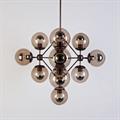 Люстра Modo Chandelier 15 Globes в стиле Roll & Hill - фото 24929