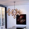 Люстра Modo Chandelier 15 Globes в стиле Roll & Hill - фото 24931