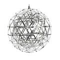 Люстра Raimond Sphere D61 Chrome - фото 25107