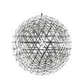 Люстра Raimond Sphere D127 Chrome - фото 25119