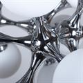 Люстра подвесная Molecula 15 - фото 25376