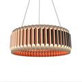 Люстра подвесная Galliano D80 Copper - фото 25890