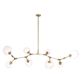 Люстра Branching Bubbles 8 Gold - фото 26203