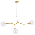 Люстра Branching Bubbles 3 Gold - фото 26248