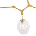 Люстра Branching Bubbles 3 Gold в стиле Lindsey Adelman - фото 26250