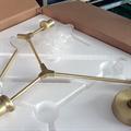 Люстра Branching Bubbles 3 Gold в стиле Lindsey Adelman - фото 26255