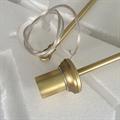 Люстра Branching Bubbles 3 Gold в стиле Lindsey Adelman - фото 26256