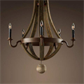 Люстра Loft Wine Barrel Hanging Chandelier 5 - фото 26722