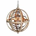 Люста Loft Wood Orb Chandelier Adds Beauty - фото 26757