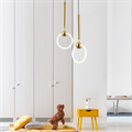 Светильник Ring Light Lee Broom золото для комнаты подростка