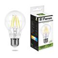 Лампа светодиодная Feron LB-57 Шар E27 7W 4000K - фото 27277