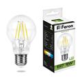 Лампа светодиодная Feron LB-63 Шар E27 9W 4000K - фото 27282