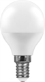 Лампа светодиодная Feron LB-750 Шарик E14 11W 2700K - фото 27299
