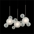 Светильник Bolle Linear 14 Bubbles Frosted - фото 27436