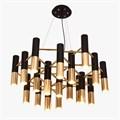 Люстра Ike 19 Lamp Черный + Золотой - фото 29043